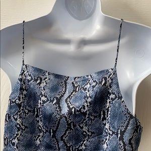 H&M Tops - Snake Skin H&M Blouse
